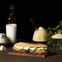 Sandwich Sesame Camembert
