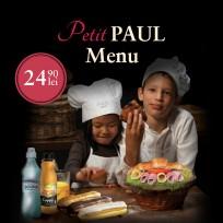 Petit PAUL Menu