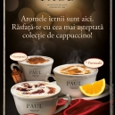PAUL coffee tastes like winter, in the new range called Cappucino Collections