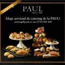 Delicatesele PAUL pot fi comandate acum prin noul serviciu de Catering