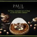 De Paște surprinde-i pe cei dragi cu cadouri dulci de la PAUL
